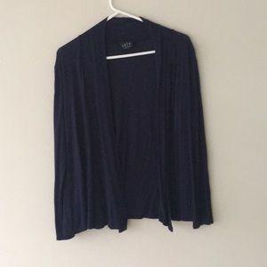 Sweaters - Dark navy blue cardigan